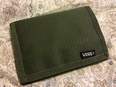 Vans Trifold Dark Green Wallet