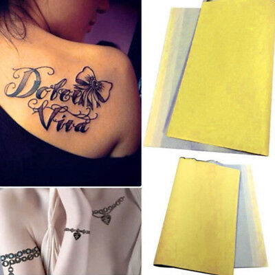 5/10 Pcs/Set A4 Carbon Printable Temporary Tattoo Transfer Stencil Paper Tracing