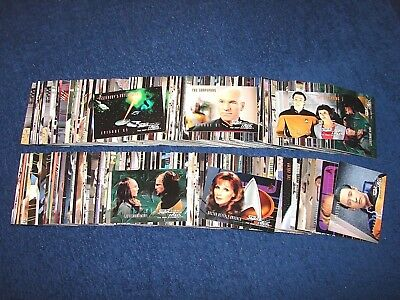 1995 Star Trek Tng The Next Generation Season 3 Episode Series 356 Cards (18-22)