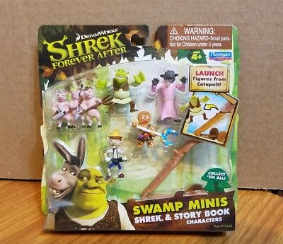 SHREK FOREVER AFTER SWAMP MINIS shrek and story book characters