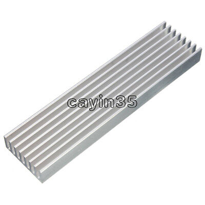 Aluminum Heat Sink Cooling LED Power IC Transistor 100x25x10mm For Computer UK
