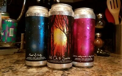 Tree House Moment of Clarity, Hold Onto Sunshine and S,S RARE STOUTS