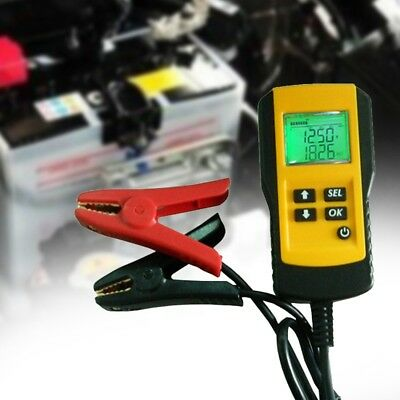 5X(AE300 12V Car Battery Digital Tester Battery Tester Analysis F9D6)