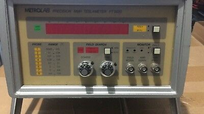 MetroLab NMR Precision Teslameter PT 2020 with 1.5T Amplified Probes 1&5 Working