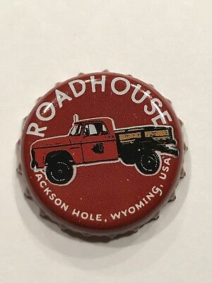 Roadhouse Brewing Company Beer Bottle Crown Cap Jackson Hole Wyoming Super Rare