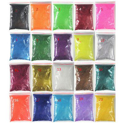 10g/50g Iridescent Glitter Dust Powder For Nail Art & Make Up UV Acrylic Crafts