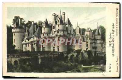 CPA Usse Indre Le Chateau
