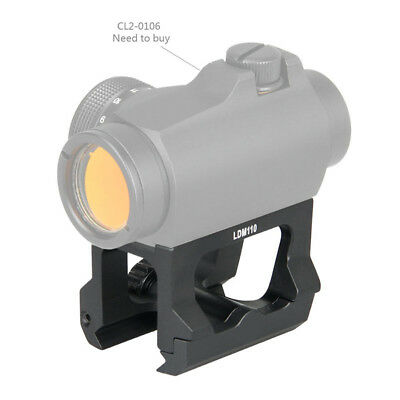 Hunting Scope Mount for T2 Red Dot Sight QD Riser Base Mount Fit 21mm Rail