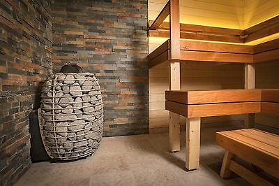 Wood Fire Sauna Stove - Wet/Dry Steam Sauna Heater Huum Hive up to 17 kW