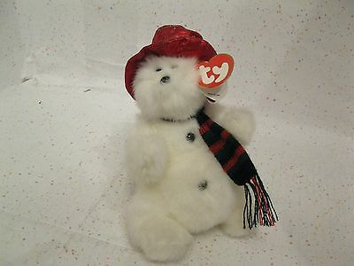 Ty Beenie Attic Treasures Schneemann North