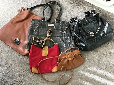 Job Lot of HandBags x 5 (3 used & 2 New) please see pictures of used ones
