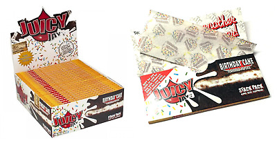 Juicy Jay's Birthday Cake King Size Supreme - 1 PACK - Stack Pack Rolling Papers