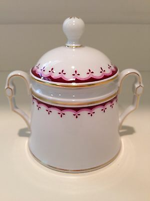 Hochst Hand-Painted Porcelain Sugar Pot Made in Germany New