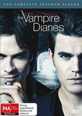 Vampire Diaries : Season 7 (DVD, 2016, 5-Disc Set) R4