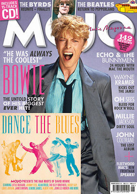 Mojo Magazine - Issue 297 - August 2018 - David Bowie Byrds Byrds Oh-Sees