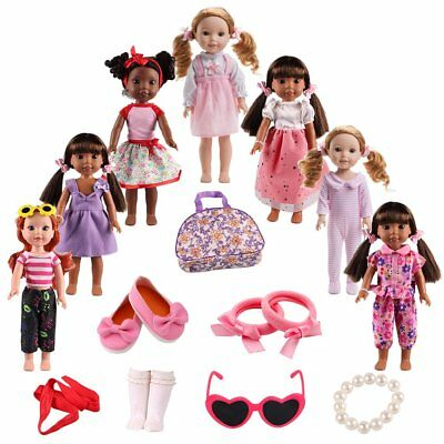BBTOYS Doll Clothes Shoes Accessories for American girl doll chothes 1414.5 inch