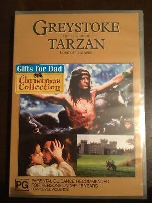 GREYSTOKE The Legend Of Tarzan Lord Of The Apes New & Sealed DVD R4