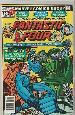 *** Marvel Comics Fantastic Four #200 Anniversary Issue F+ ***