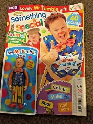 CBeebies Something Special Magazine Issue 67 Mr Tumble Toy New