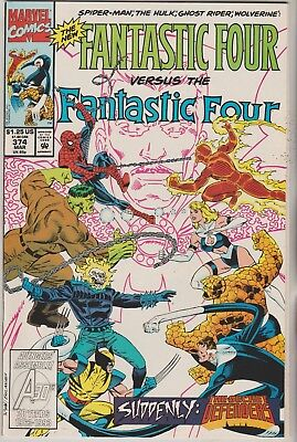 *** Marvel Comics Fantastic Four #374 New Fantastic Four Vf+ ***