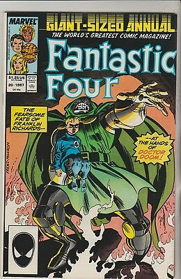 *** Marvel Comics Fantastic Four Annual #20 Doctor Doom And Mephisto Vf ***