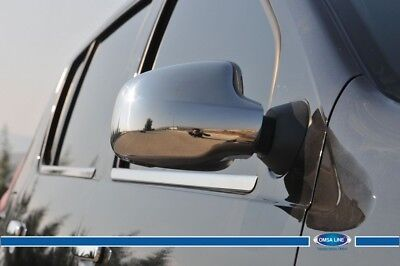 FIT FOR Dacia Renault Duster CHROME MIRROR COVER S.STEEL 2PCS 2012-2017