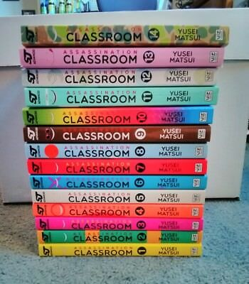 Assassination Classroom manga volumes  1-14