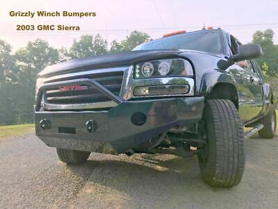 USA! GRIZZLY CUSTOM 2004-2008 F150 FRONT WINCH PLATE BUMPER