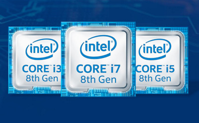INTEL CORE i5 8th Gen CPU STICKER DECAL COMPUTER PC CASE BADGE