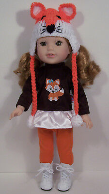 Woodland FOX Top Hoodie Pants Doll Clothes For 14 AG Wellie Wisher Wishers (Debs