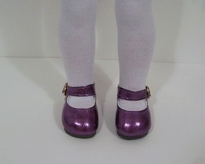 Purple Color Sandals Shoes Fit American Girl Wellie Wishers Dolls Dk Lavender