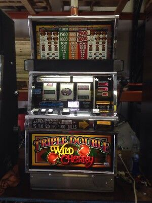 IGT S2000 Triple Double Wild Cherry SLOT MACHINE Freight Shipping Available