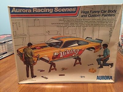 Aurora Vega 1/16 Funny Car Body With Painters Rare From 1973