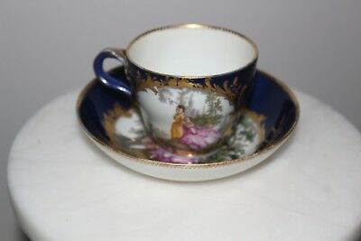 Meissen - cup and saucer