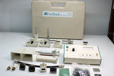 Microwave Trainer Feedback 56-200 (educational kit) X-band 10 GHZ waveguide WR90