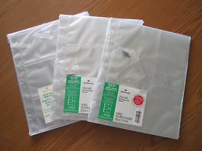 """3 New Packages Hallmark Value Pack Album Refill Pages Ar1022 - 3 1/2"""" X 5"""" Photo"""