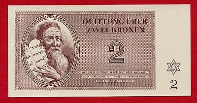 WW2 - Concentration Camp Money (Holocaust money), German Camp Theresienstadt