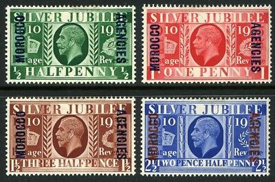 ** GB Silver Jubilee Issue of 1965 * King George V * Officies in Morocco *