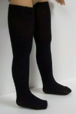 BLACK Stocking Thigh-Hi Doll Socks For Dianna Effner Little Darling Vinyl (Debs)