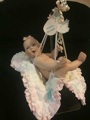 Ashton Drake Galleries Porcelain Doll 'Special Delivery' By Titus Tomescu 1995