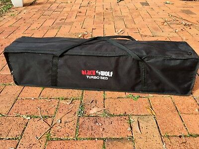 Black Wolf Turbo Folding Camping Bed