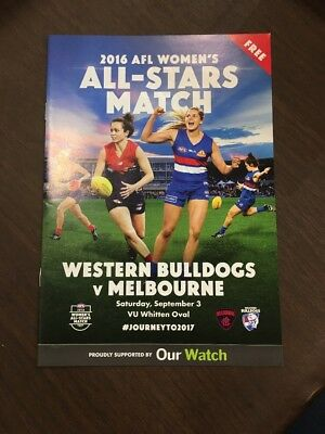 2016 Aflw Melbourne Western Bulldogs Record All Stars Match
