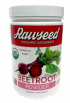 "Rawseed Organic Beet Root Powder ""Beta vulgaris"" 1 Lb with a High Nitrate"