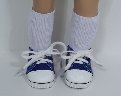 Debs RED Canvas Tennis Deck Sneakers Doll Shoes For Helen Kish Riley