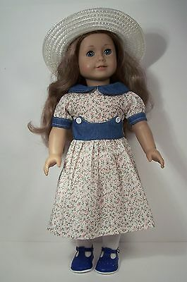Scottie Dog Dress /& SWEATER TIGHTS SHOES Doll Clothes For 18 American Girl Debs