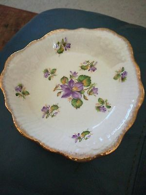 CROWN DUCAL, Vintage Dish 13cm. Made in England.