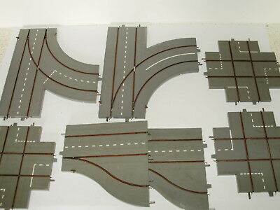 Triang Minic Motorways Junction/turnout sections x 7p.Good useable condition.OO
