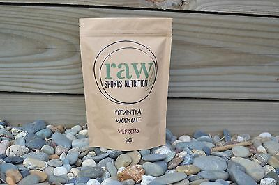 Pre-workout - Over 50% off RRP - 100% NATURAL - Raw Sports Nutrition