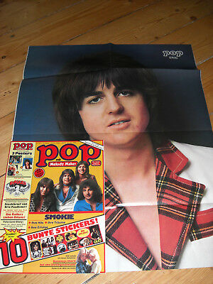 Pop 15/1977 Neu Eric Faulkner Showaddywaddy Poster Sweet Connolly Eagels Smokie