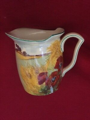 Royal Doulton Series Ware – Poppies in the Cornfield Westcott Shaped Jug